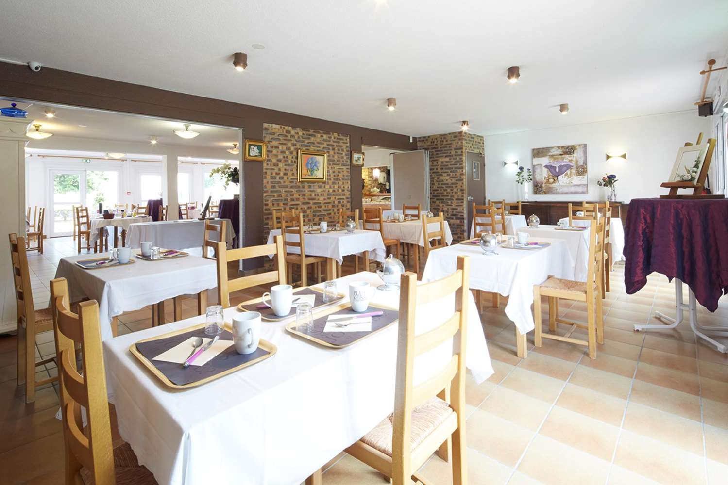 Restaurant - Hotel Kyriad Vernon St Marcel