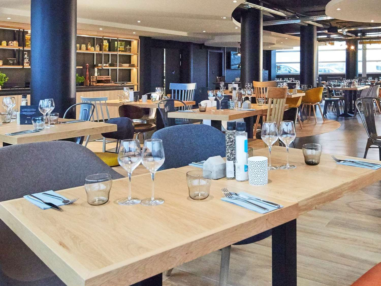 Restaurant - Hotel Campanile Le Bourget - Airport