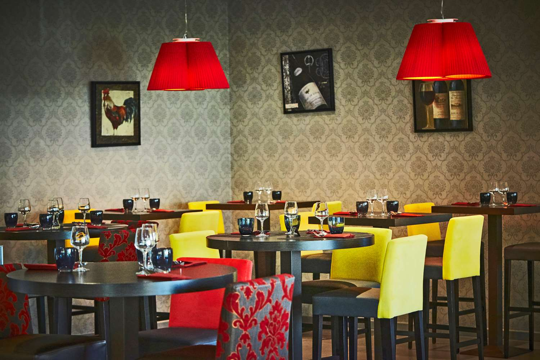Restaurant - Hotel Kyriad Prestige Lyon Est - Saint Priest Eurexpo Hotel And Spa