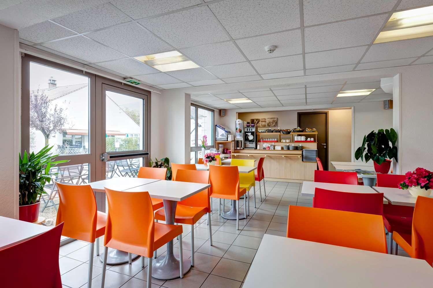 Restaurant - Hotel Premiere Classe Geneve - Aéroport - Prévessin
