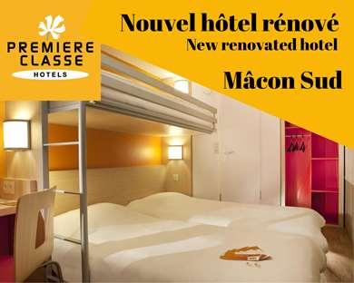 Hôtel PREMIERE CLASSE MACON SUD - Crèches sur Saône