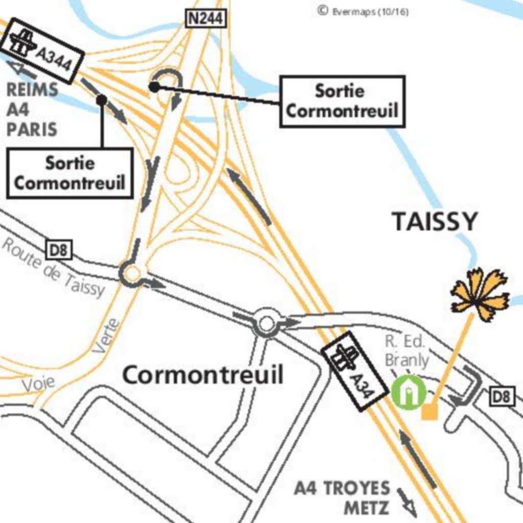 Première Classe REIMS EST - Taissy