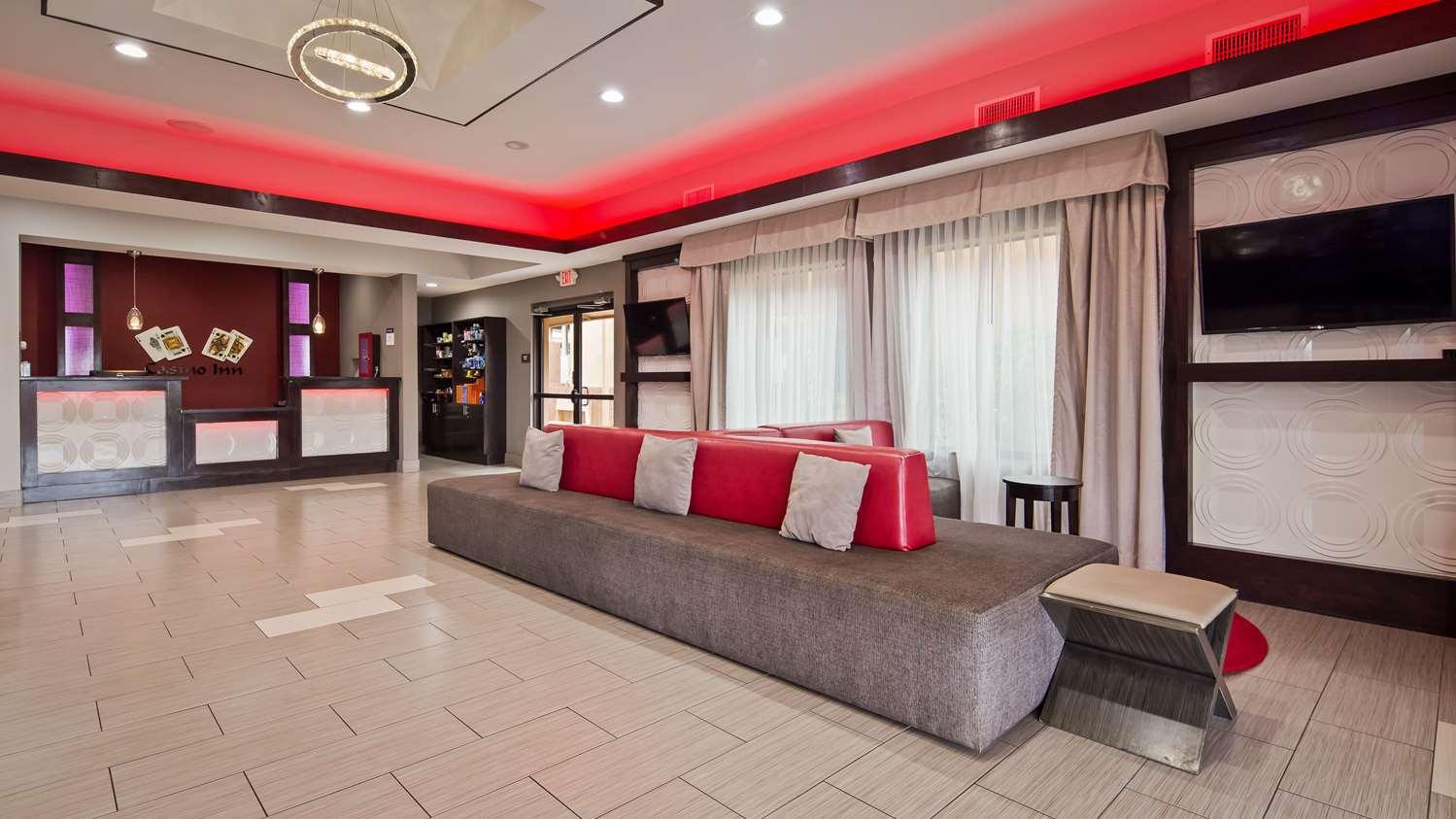Lobby - Best Western Casino Inn Vinton