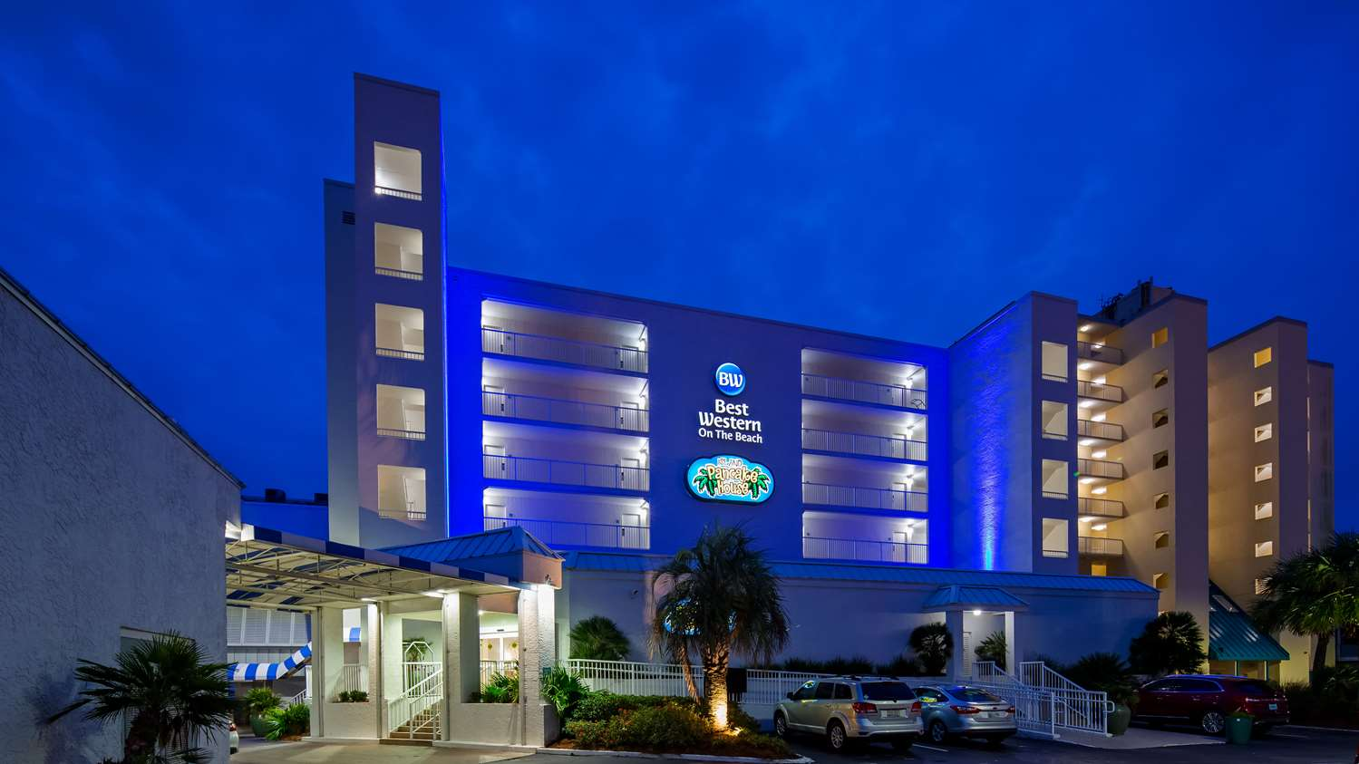 Exterior view - Best Western on the Beach Hotel Gulf Shores
