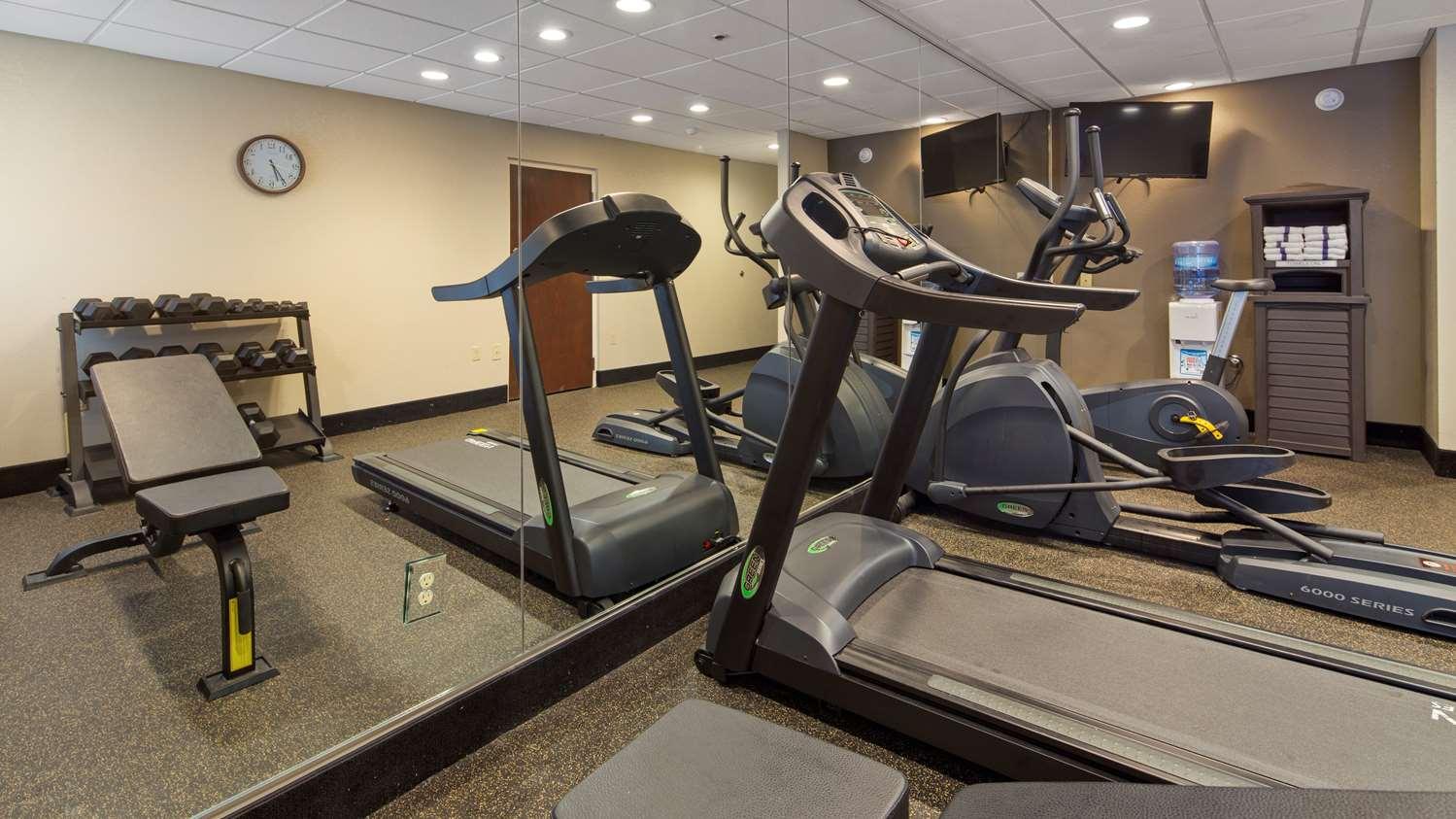 Fitness/ Exercise Room - Best Western Plus Oak Mountain Inn Pelham