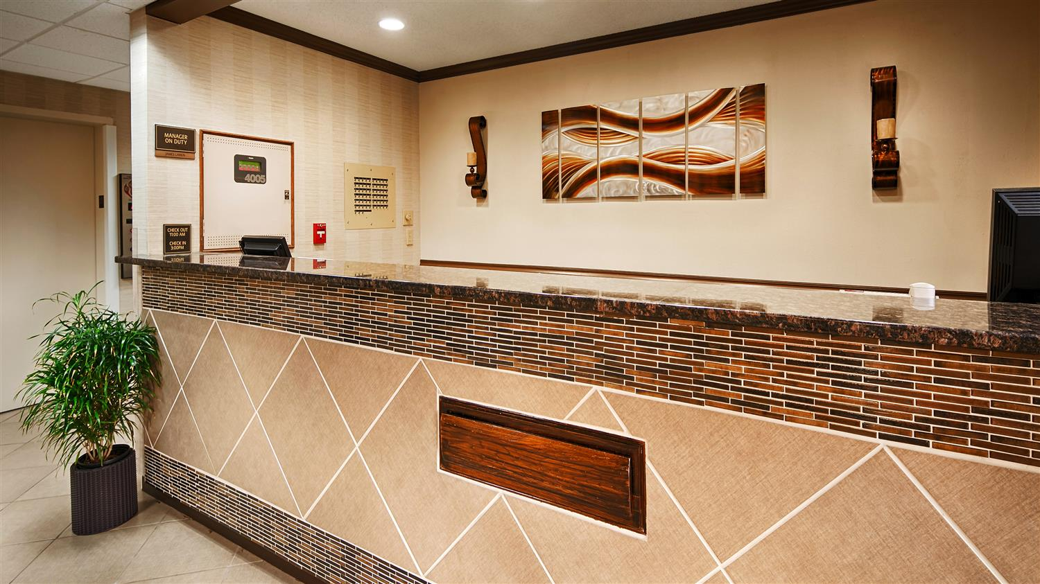 Lobby - Best Western River City Hotel Decatur