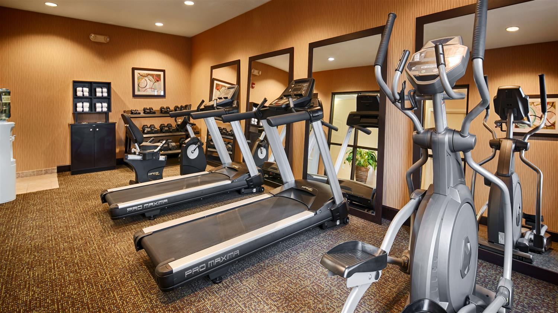 Fitness/ Exercise Room - Best Western Plus Gadsden Hotel & Suites