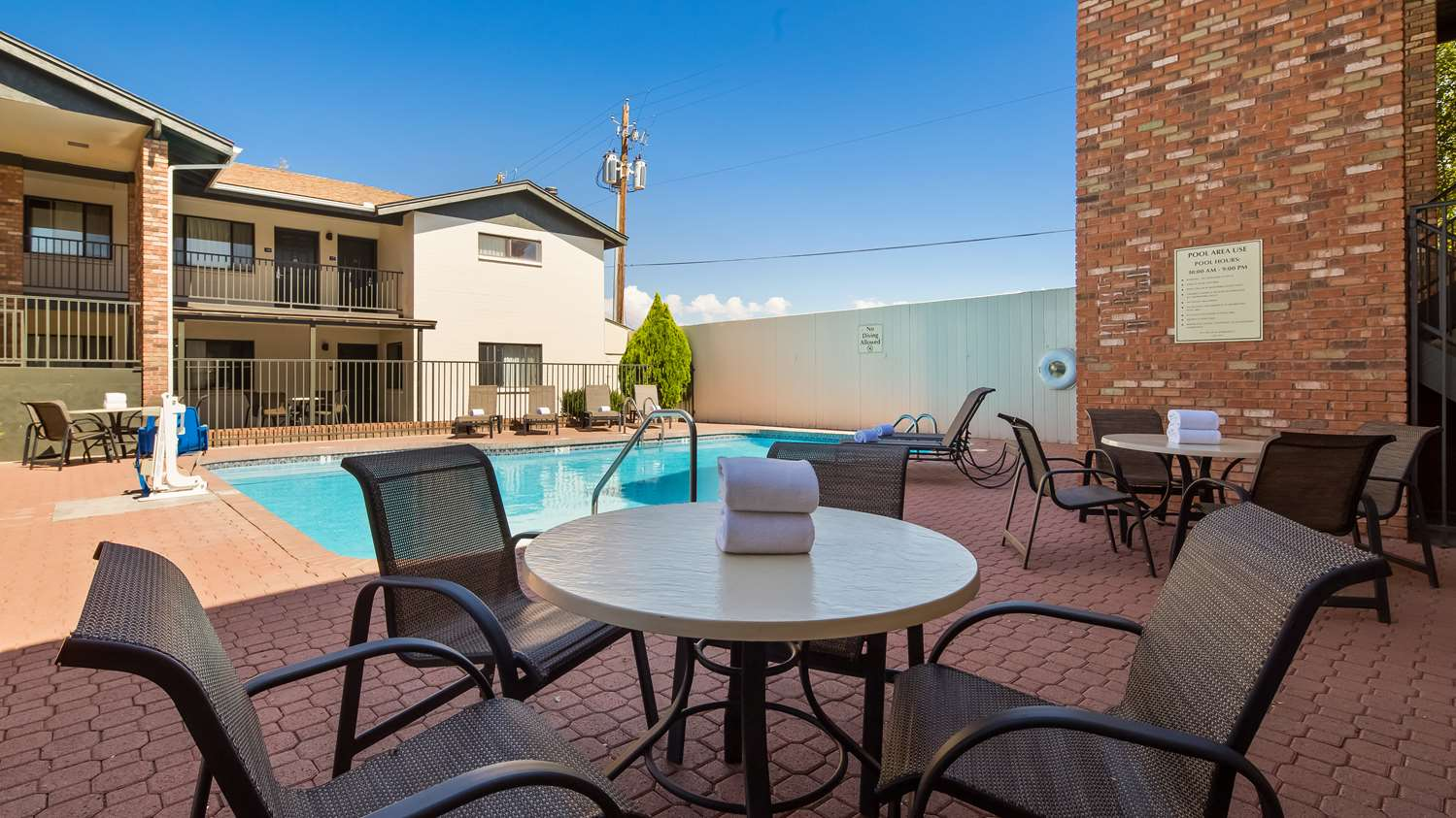 Pool - Best Western Arizonian Inn Holbrook