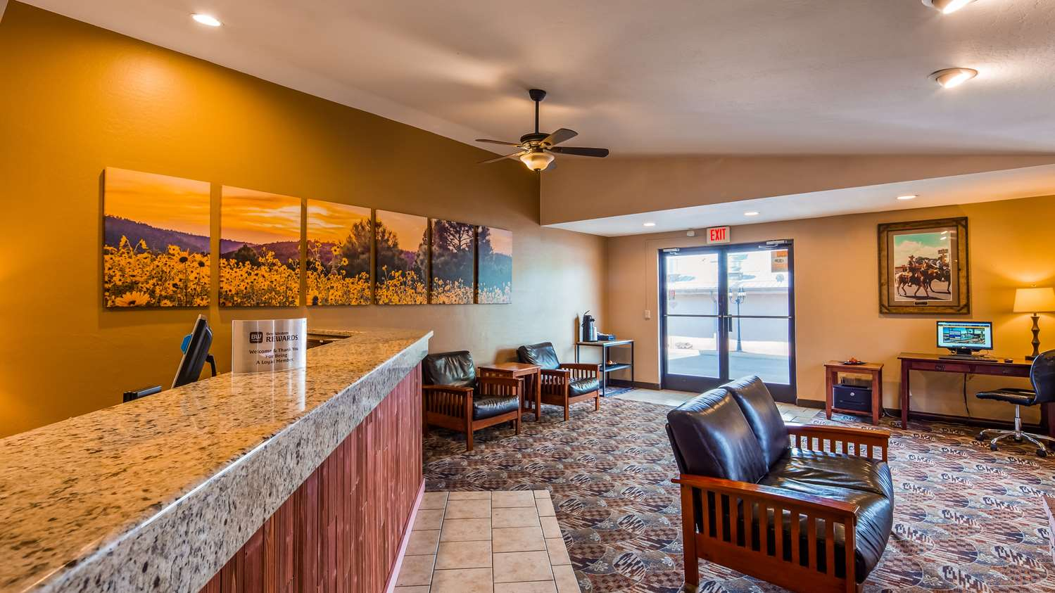 Lobby - Best Western Sunrise Inn Eagar