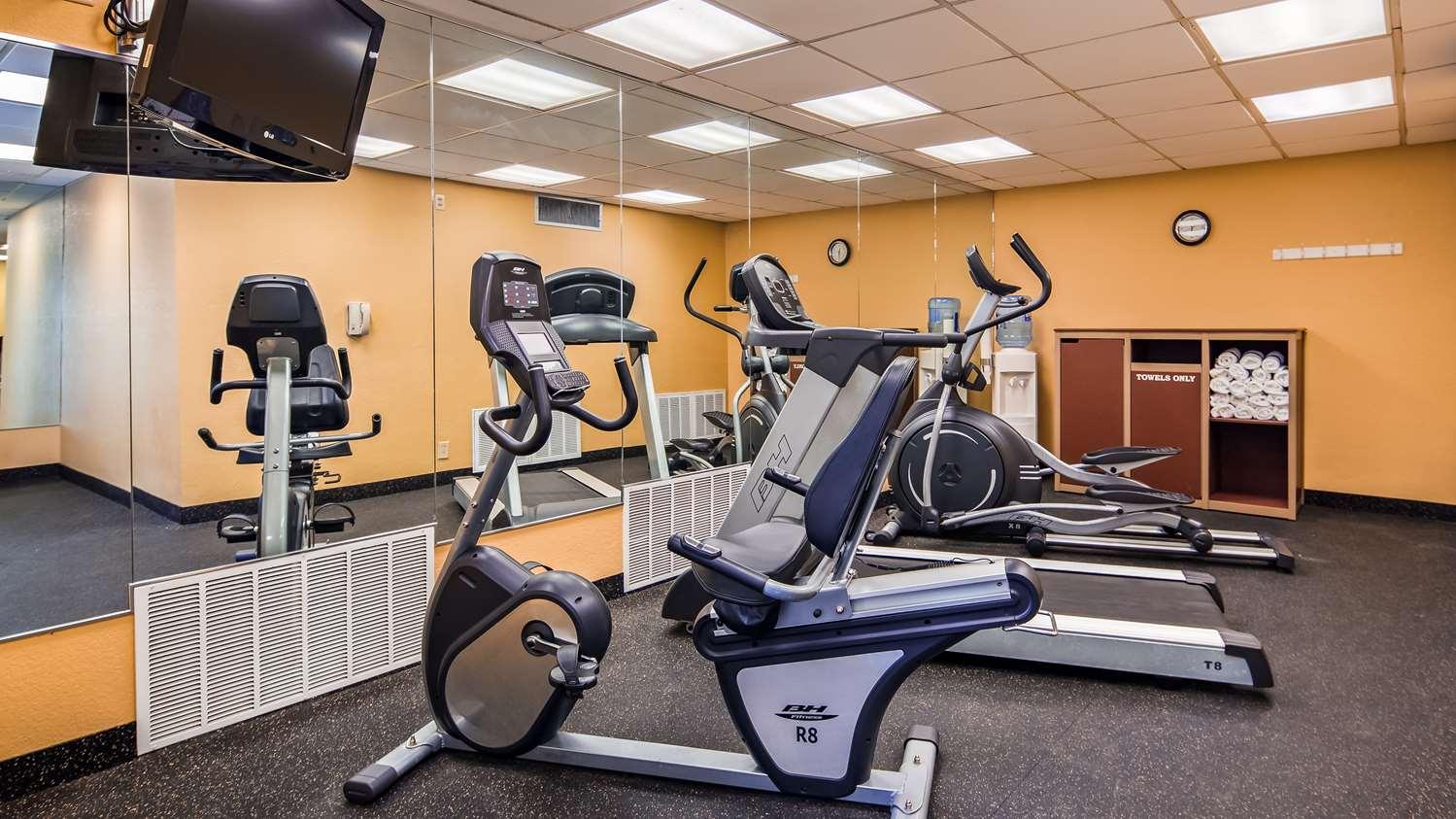 Fitness/ Exercise Room - Best Western Winners Circle Inn Hot Springs