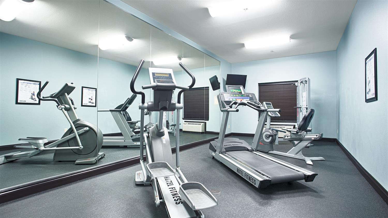 Fitness/ Exercise Room - Best Western Plus Texarkana Inn & Suites