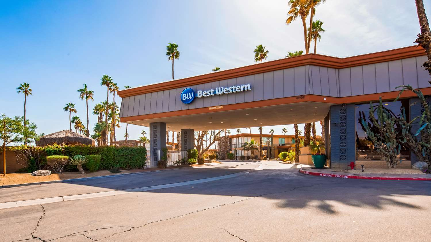 Exterior view - Best Western Date Tree Hotel Indio
