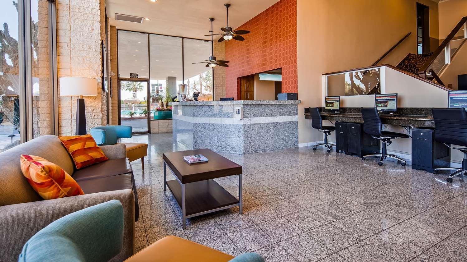 Lobby - Best Western Date Tree Hotel Indio