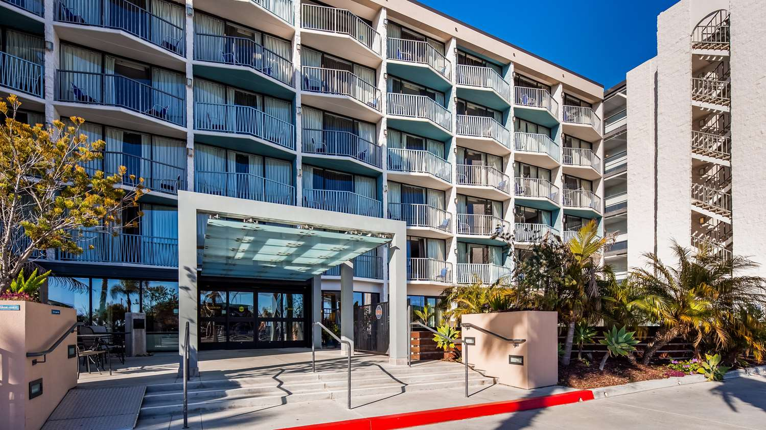 Exterior view - Best Western Yacht Harbor Hotel San Diego