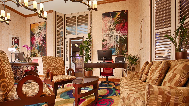 Lobby - Best Western Plus Sutter House Hotel Sacramento
