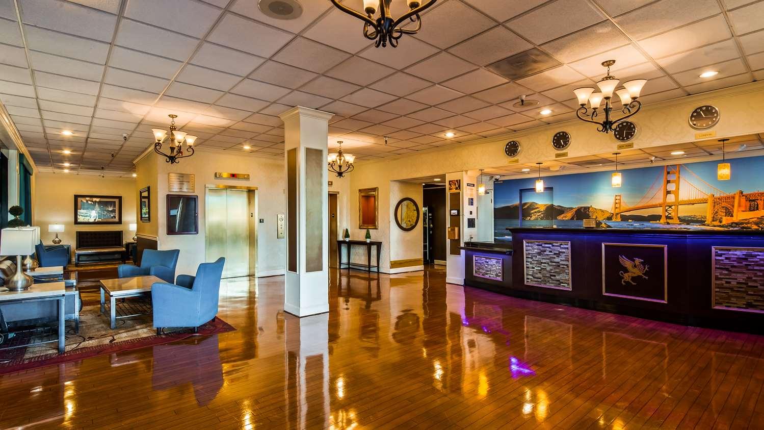 Lobby - Best Western Plus Grosvenor SFO Airport Hotel