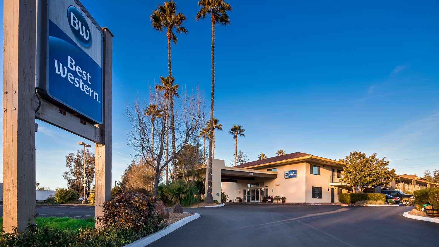 Exterior view - Best Western Rohnert Park Inn