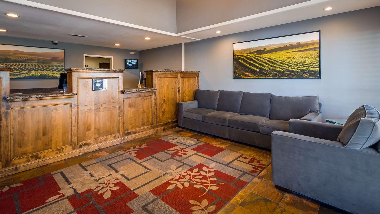 Lobby - Best Western Rohnert Park Inn