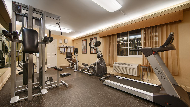 Fitness/ Exercise Room - Best Western Plus Ontario Airport Inn