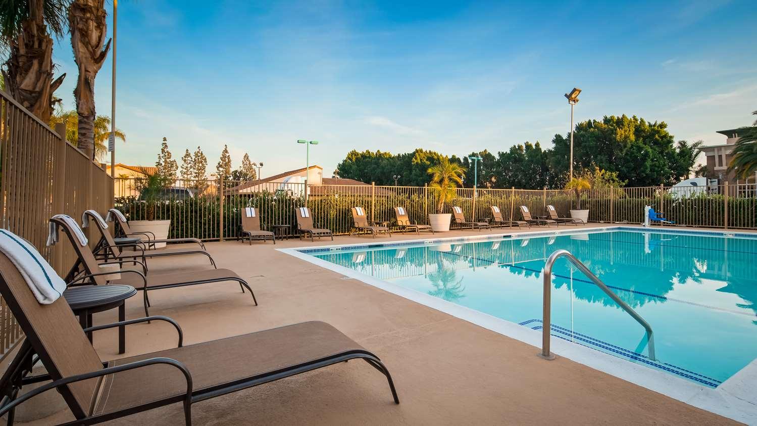 Pool - Best Western Plus Ontario Airport Inn