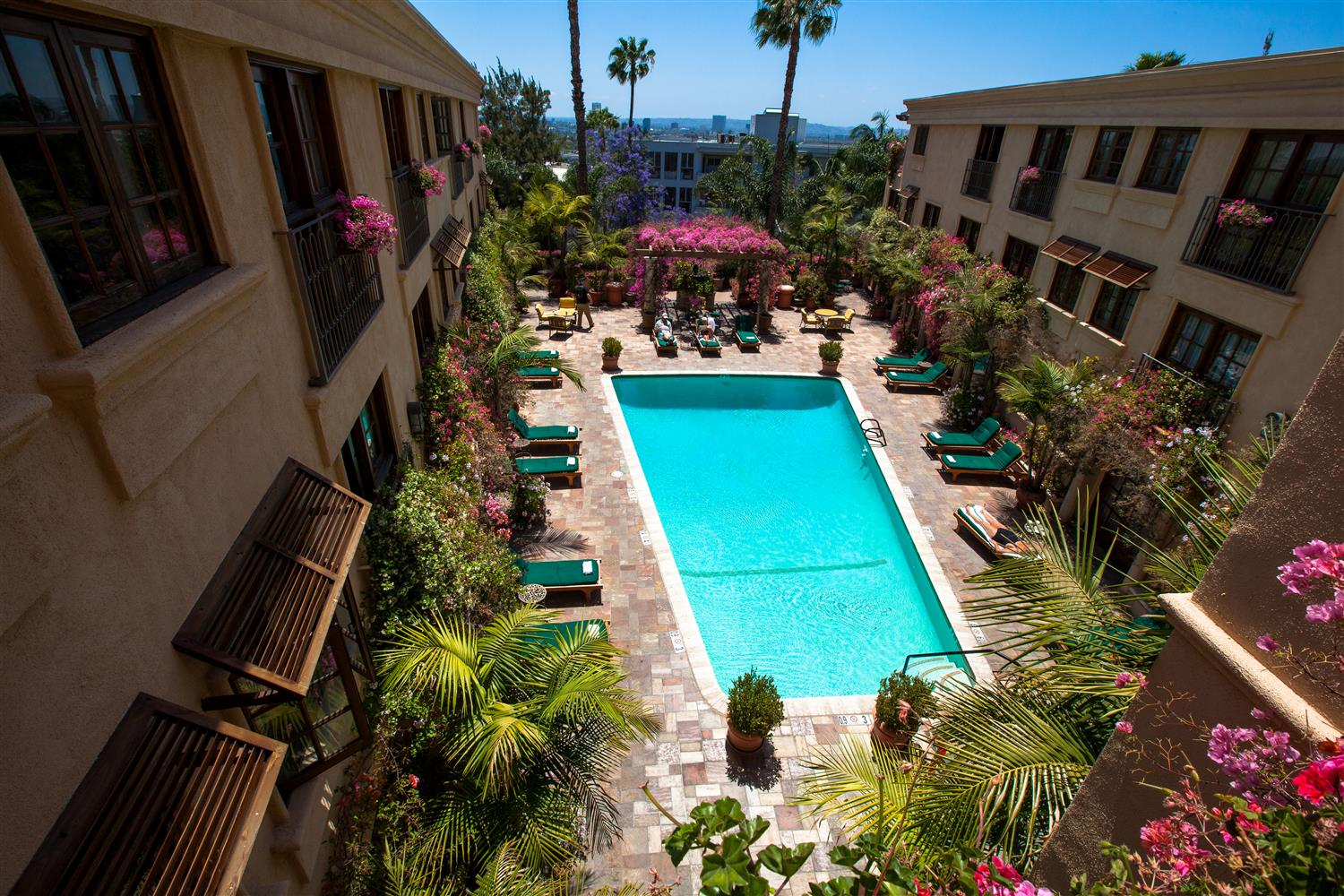 Exterior View Best Western Plus Sunset Plaza Hotel West Hollywood