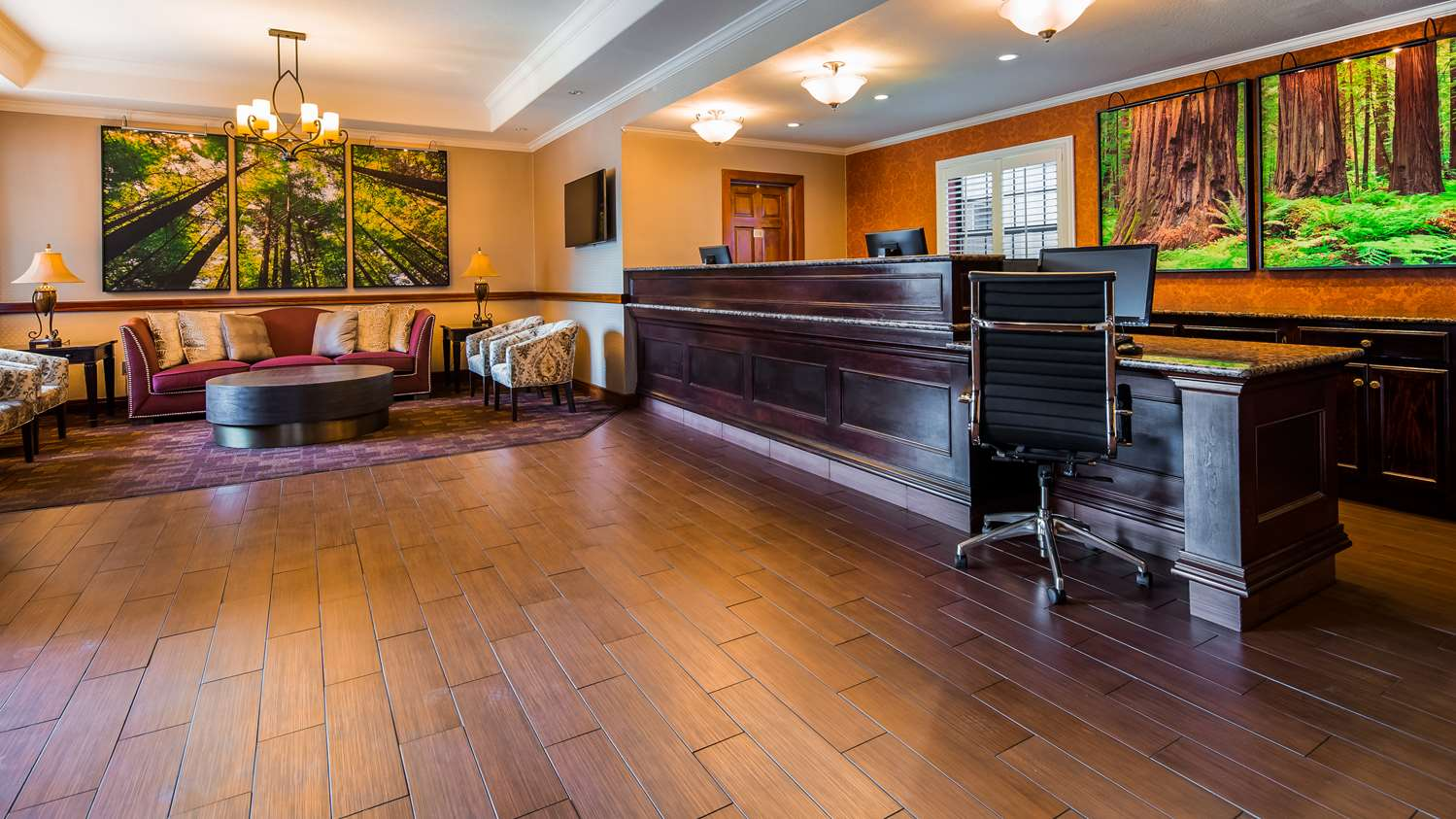 Lobby - Best Western Plus Humboldt House Inn Garberville