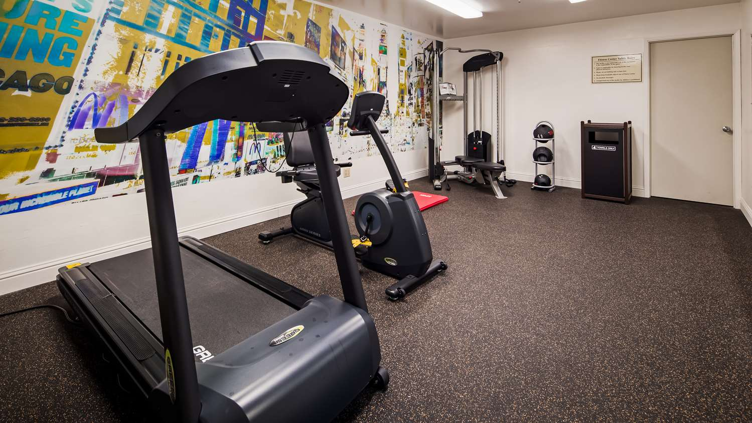 Fitness/ Exercise Room - Best Western Heritage Inn Concord