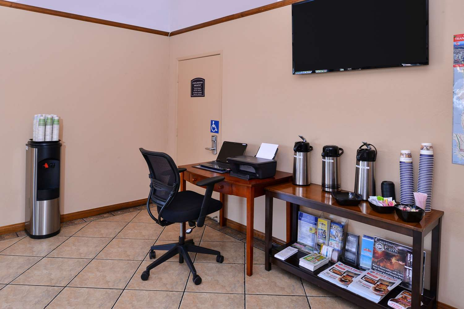 Conference Area - Best Western Santee Lodge