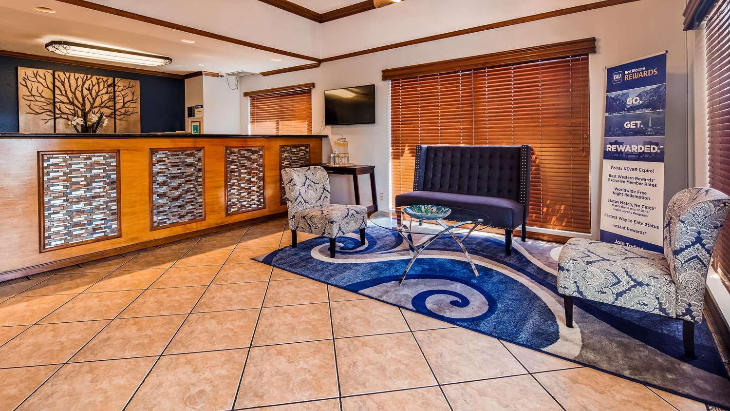 Lobby - Best Western Santee Lodge