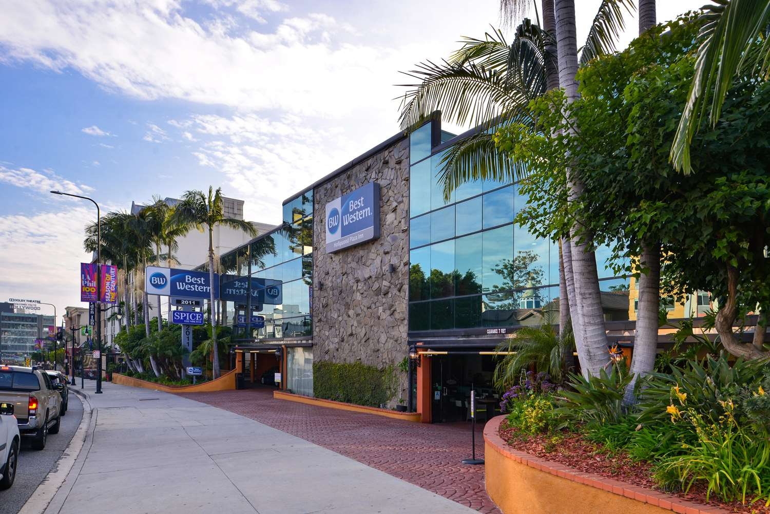 Exterior view - Best Western Hollywood Plaza Inn