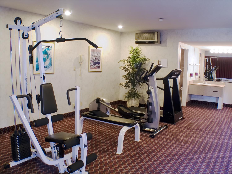 Fitness/ Exercise Room - Best Western Inn Diamond Bar