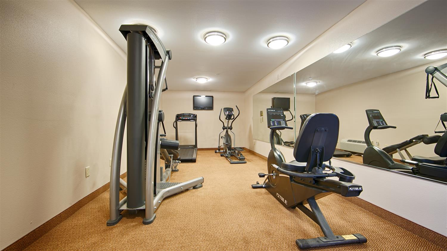 Fitness/ Exercise Room - Best Western Porterville Inn