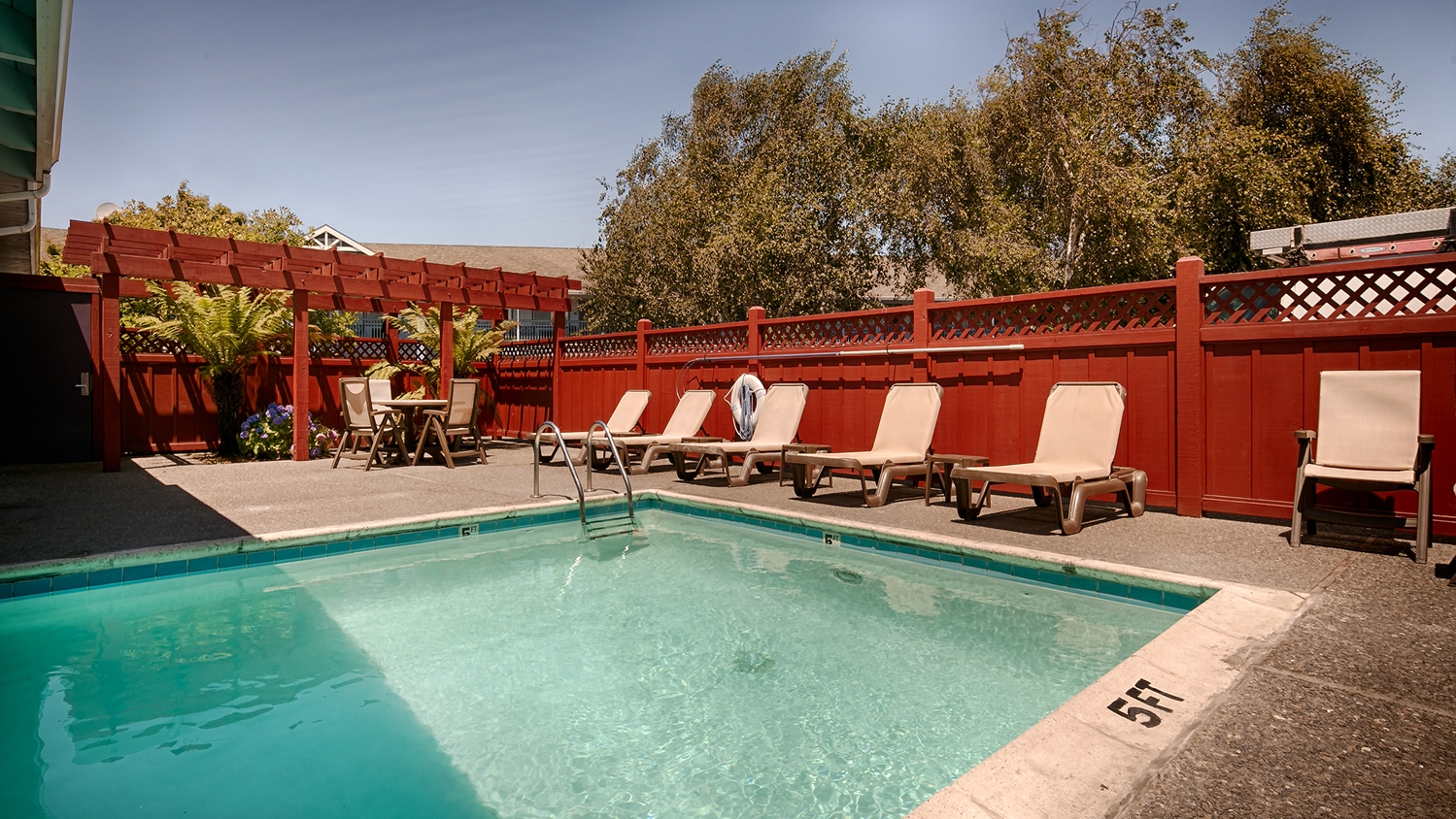 Pool - Best Western Country Inn Fortuna
