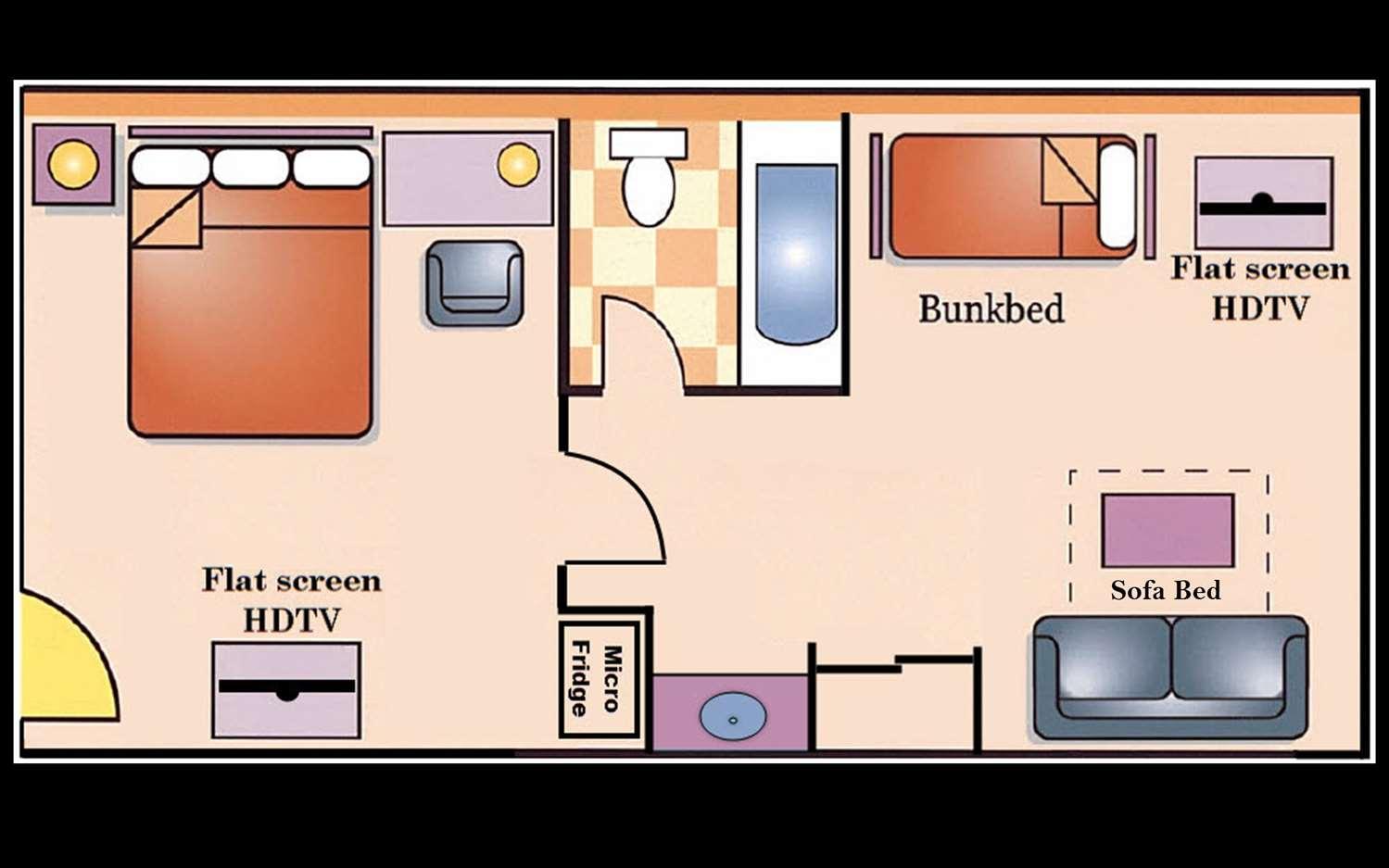 Suite - Best Western Plus Raffles Inn & Suites Anaheim