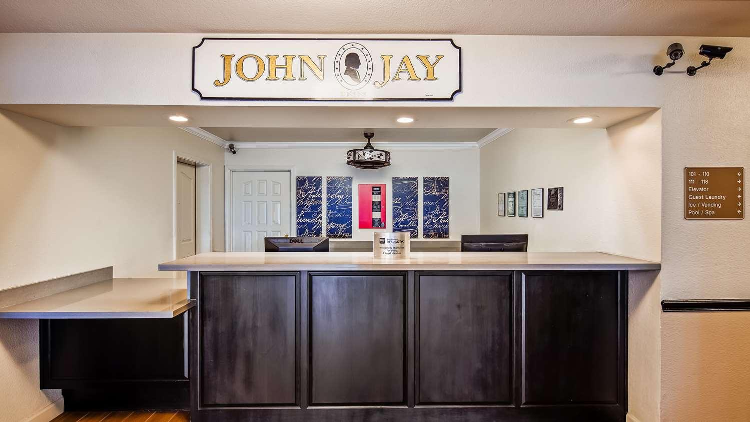 Lobby - Best Western John Jay Inn Sacramento