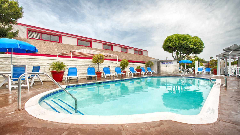 Pool - Best Western Surf City Hotel Huntington Beach