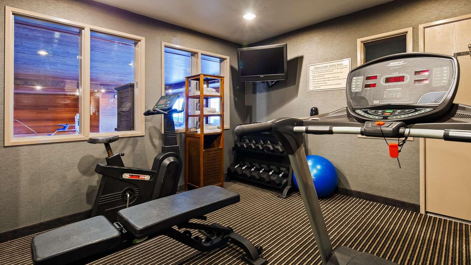 Fitness/ Exercise Room - Best Western Plus Rama Inn & Suites Oakdale