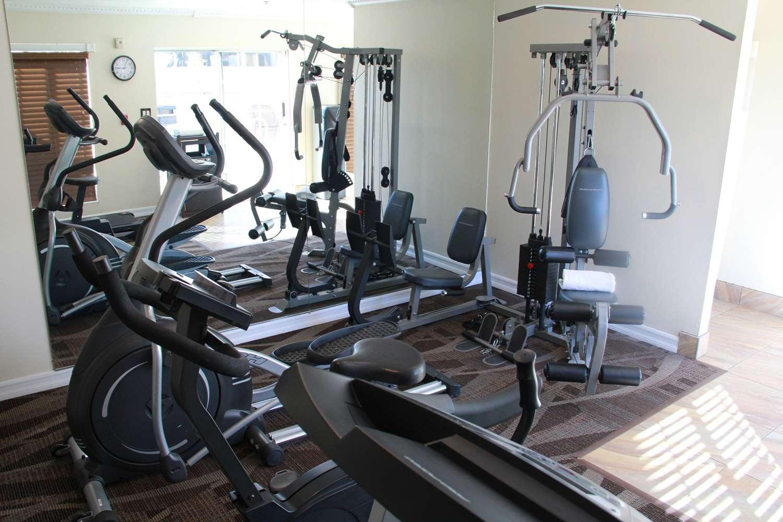 Fitness/ Exercise Room - Best Western El Centro Inn