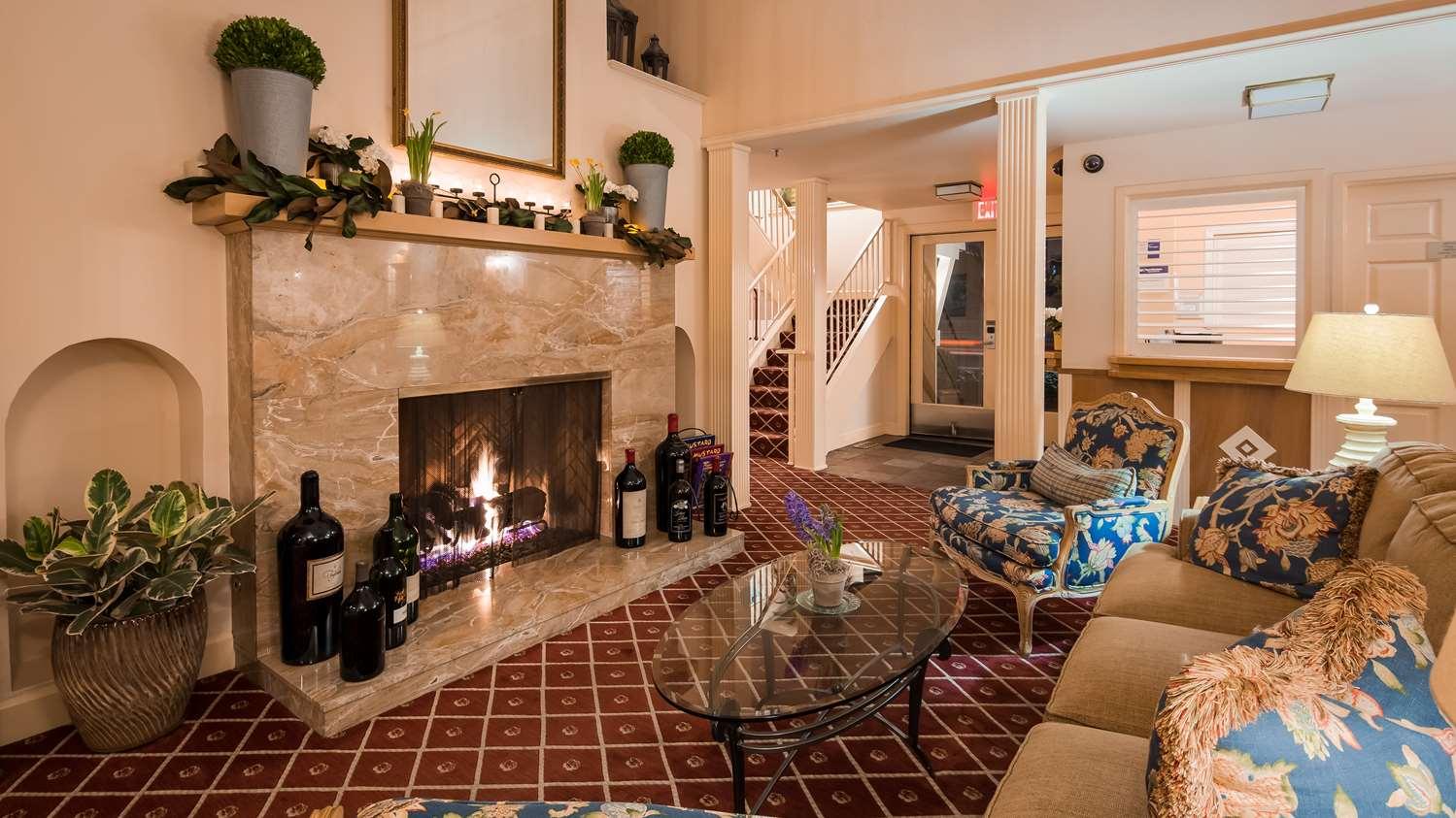 Lobby - Best Western Plus Elm House Inn Napa