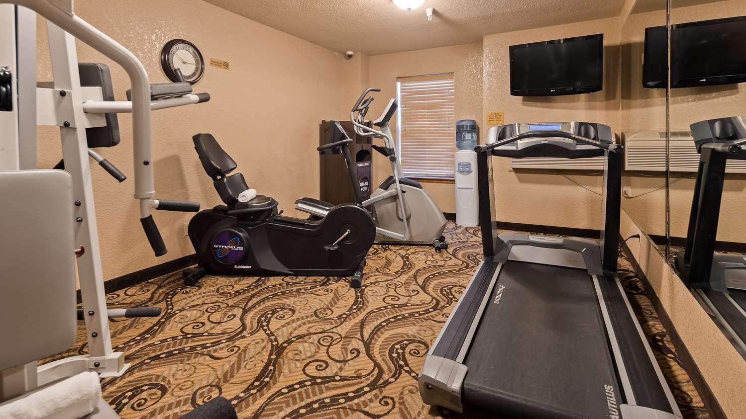 Fitness/ Exercise Room - Best Western Plus Bayshore Inn Eureka