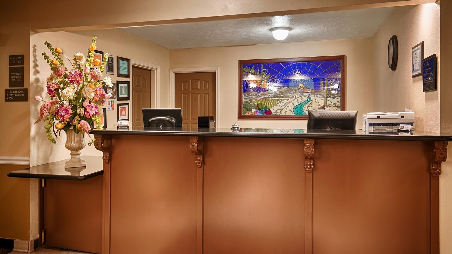 Lobby - Best Western John Jay Inn Calexico