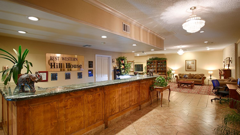 Lobby - Best Western Plus Hill House Hotel Bakersfield