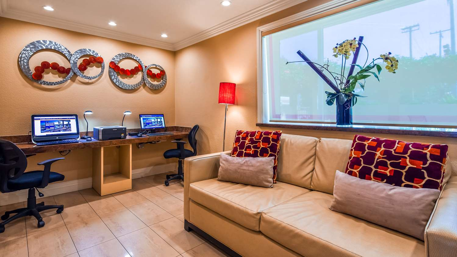 Lobby - Best Western Plus Airport Plaza Hotel San Jose