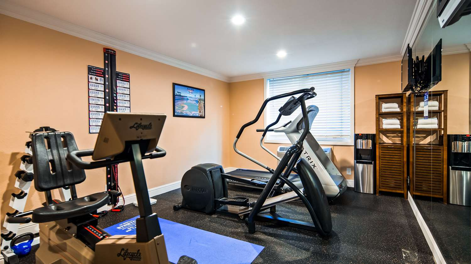 Fitness/ Exercise Room - Best Western Plus Airport Plaza Hotel San Jose