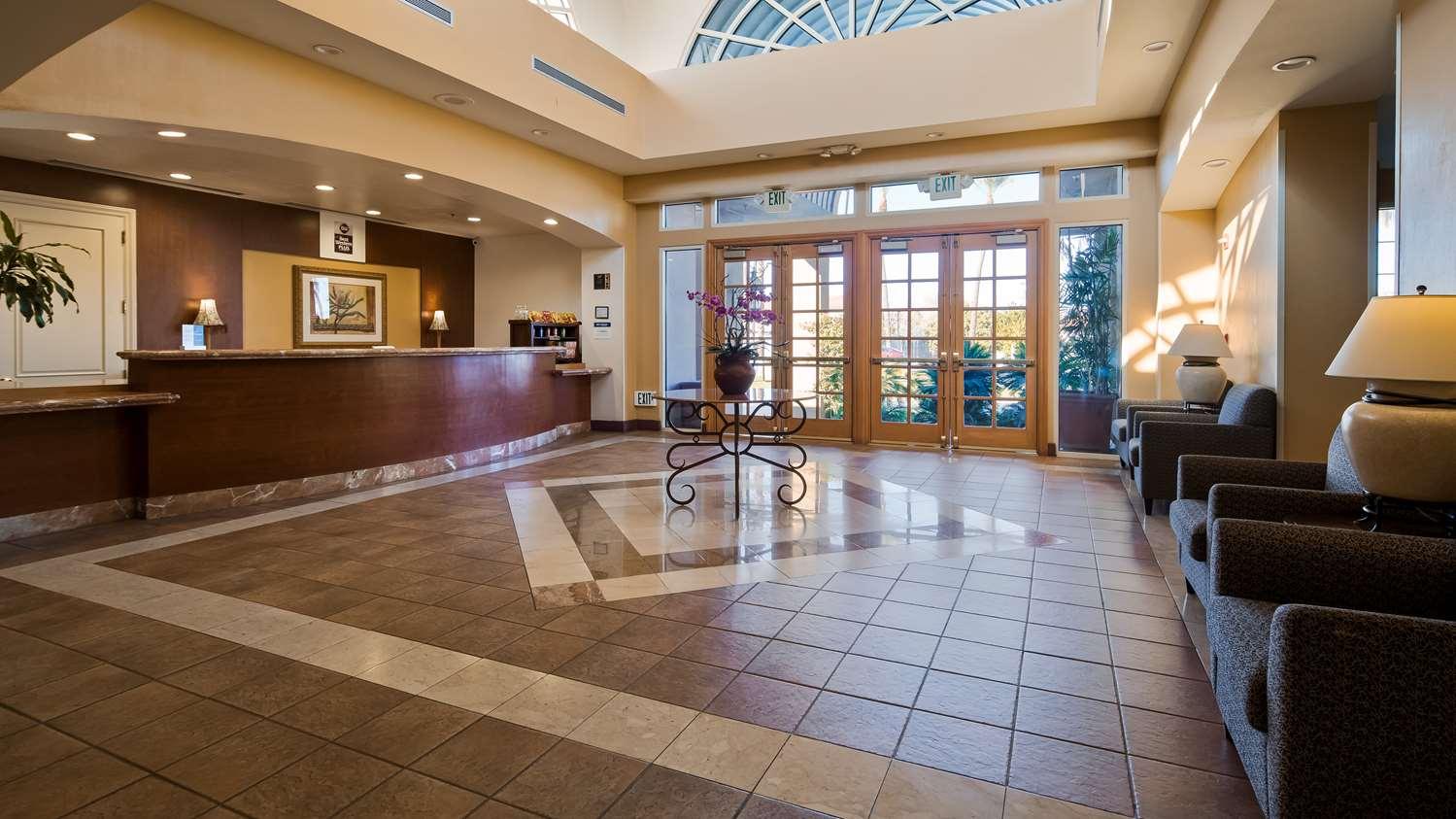 Lobby - Best Western Plus Palm Desert Resort