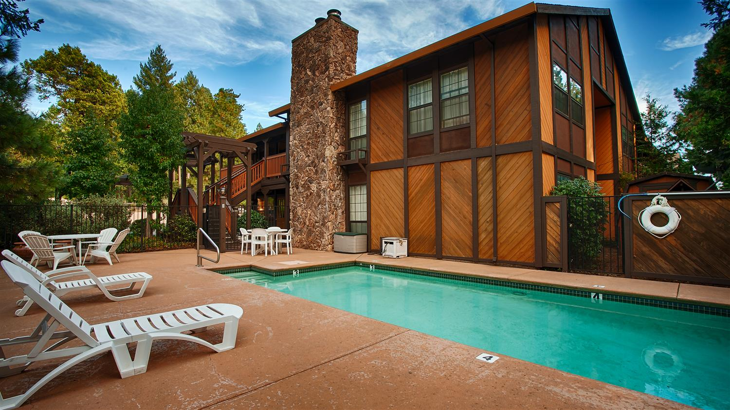 Pool - Best Western Stagecoach Inn Pollock Pines