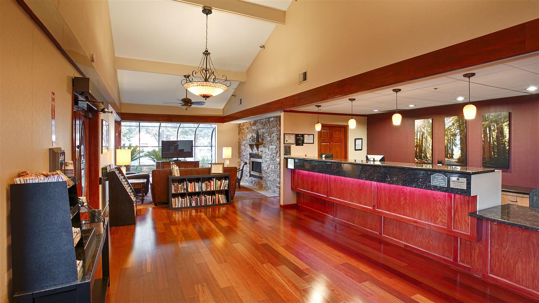 Lobby - Best Western Plus Forest Park Inn Gilroy