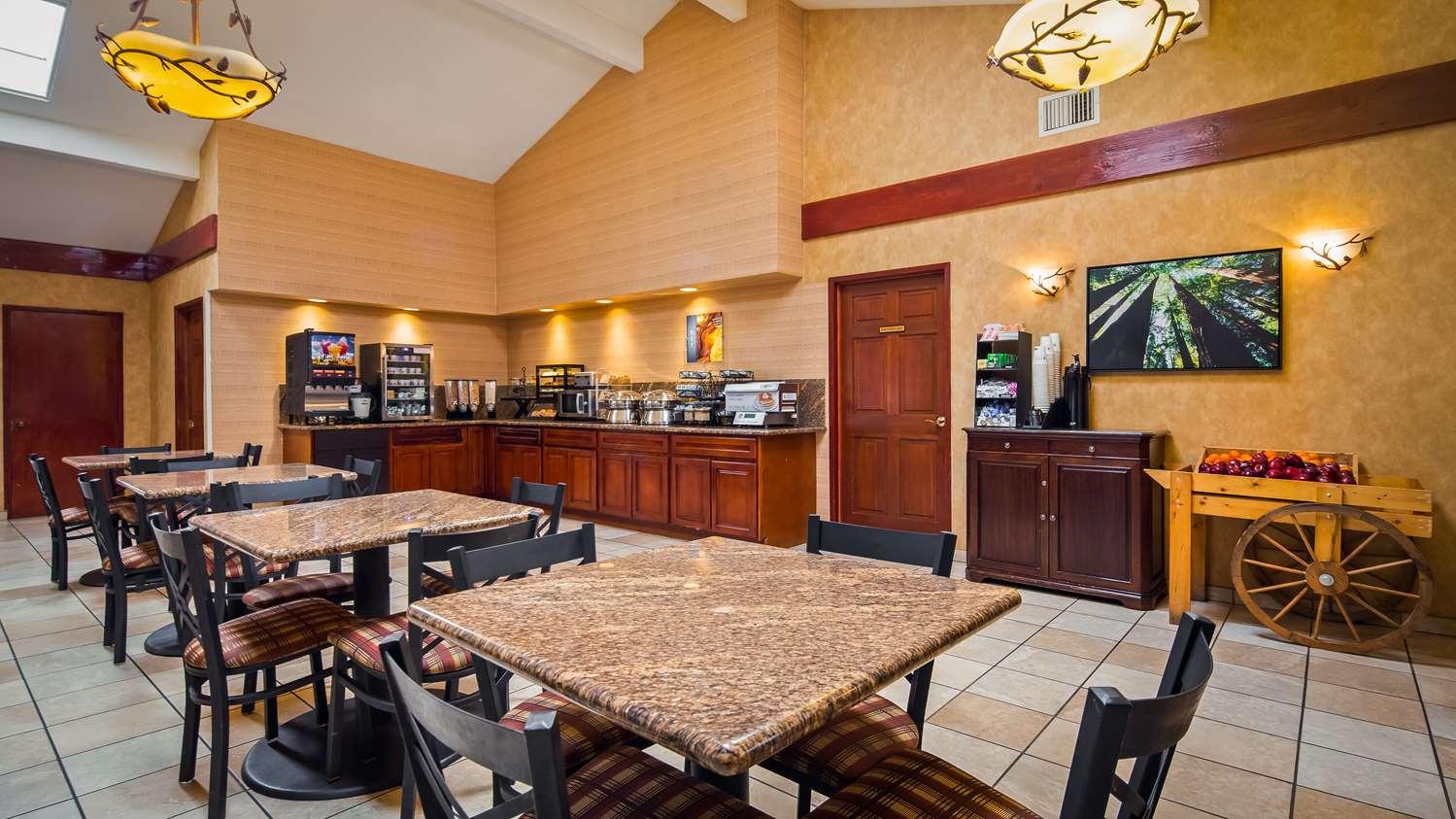 Restaurant - Best Western Plus Forest Park Inn Gilroy
