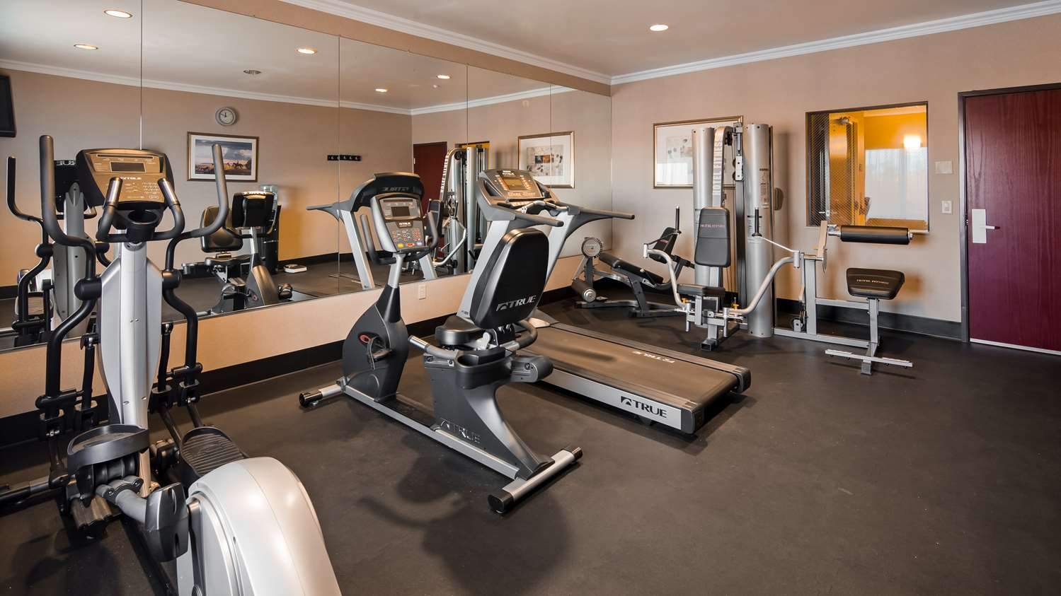 Fitness/ Exercise Room - Best Western Joshua Tree Hotel & Suites Yucca Valley