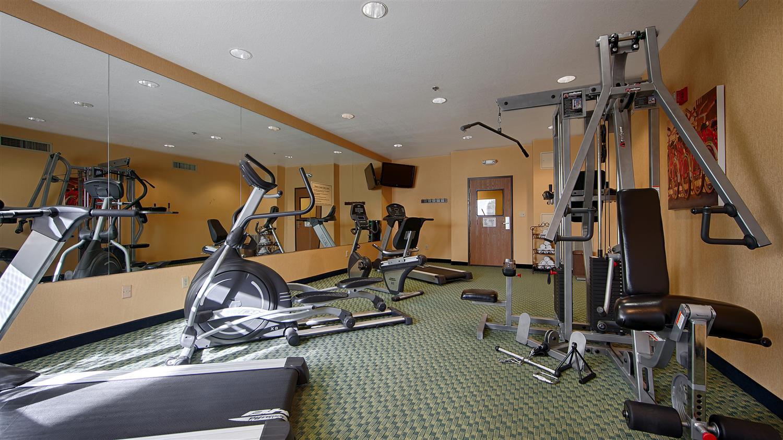 Fitness/ Exercise Room - Best Western Plus Fresno Inn